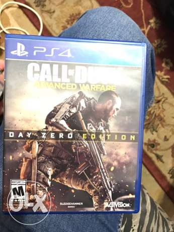ps4 game. call of duty avanced warfare