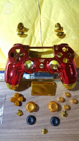Ps4 Iron man limited edition custom controller full set shell
