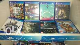 PS4 used games