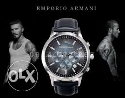 The new David Bekham limited edition from Armani