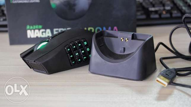 Razer Naga Epic Chroma (wireless) gaming mouse