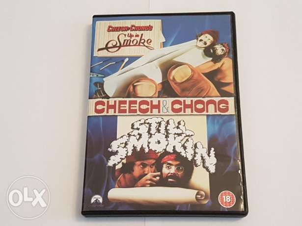 Cheech and Chong: Up in Smoke/Still Smokin double feature dvd origina'