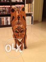 wooden mask african
