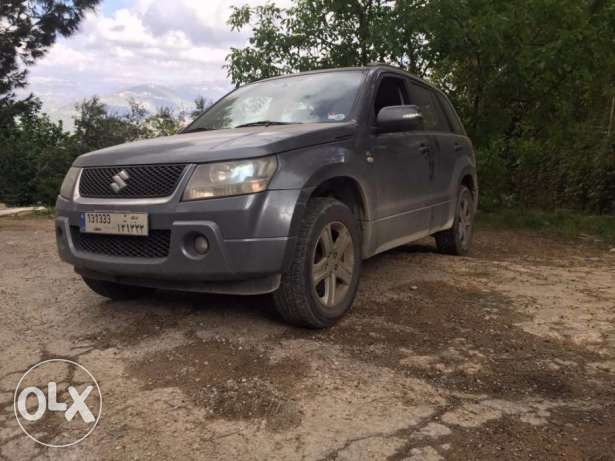 Suzuki Grand Vitara V6 Full Options Blue Jeep