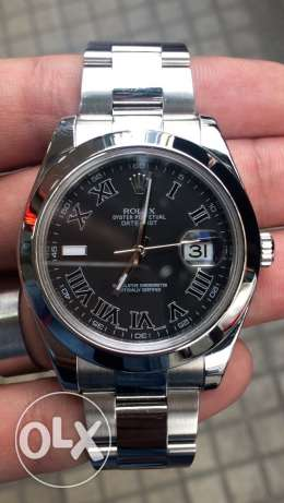 Rolex datejust 41mm model 2012