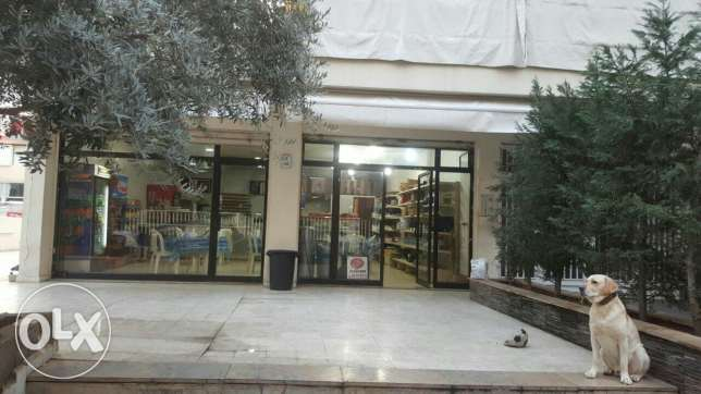 shop horch tabet for rent 1500 usd 100 sqm + 150 terrace