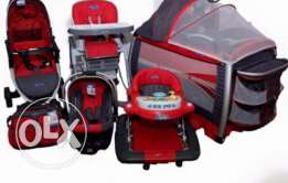 stroller + car seat + youpala + park + bag + high chair