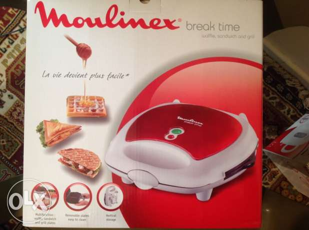Moulinex 3 in 1 : Waffle sandwich and grill