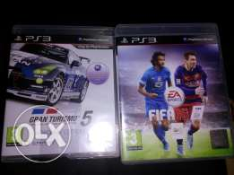 Fifa 16 and gran turismo 5 jdeed ll be3 b 30$ bs
