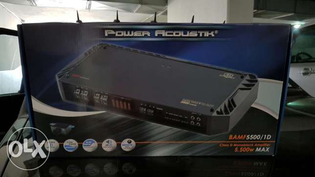 Amplifier-Power Acoustik-MonoBlock-SoundSystem-New انطلياس -  1