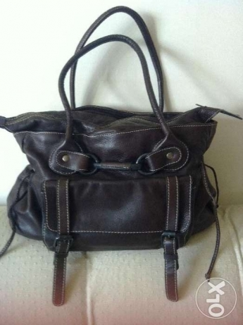 Handbag - Brown leather -size: medium - very good condition