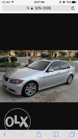 325 i. 2006. ful option farich aswad. kahraba