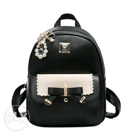 Back bag black color