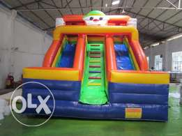 Clown Slide Inflatable Gonflable Game ألعاب نفخ