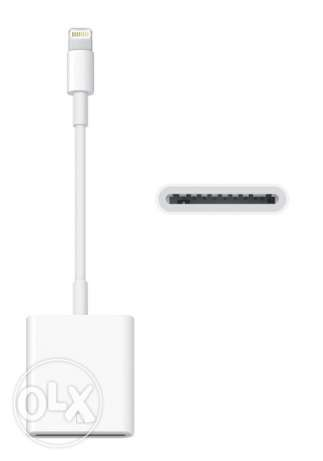 Apple Lighting to SD card adapter / Never Used