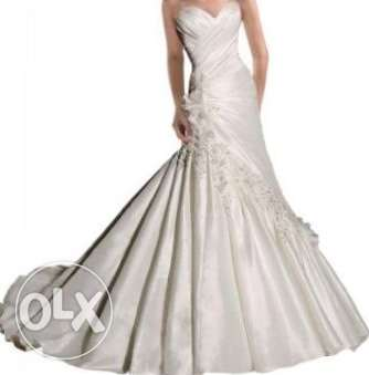 Wedding dress فستان عرس new
