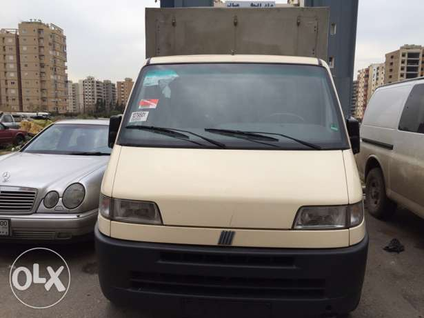 FIAt DUKATO PIK UP mod 1996 verry clean from germany البحصاص -  1