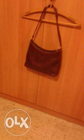 Prada leather purse