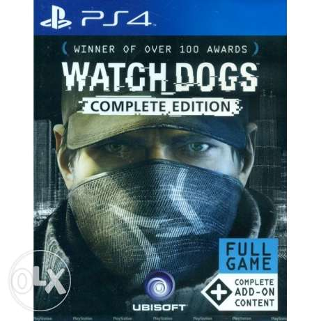 Watchdogs Complete Edition PS4 Brand New Sealed (makhtoume)