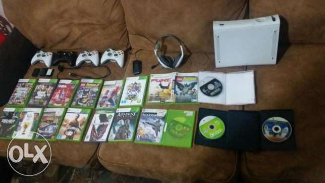 LAST CHANCE XBOX 360 + games + accessories For sale!!