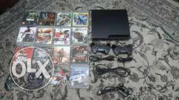 Play station 3 with 16 CD