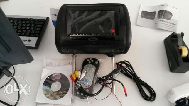 Dvd and game player for car