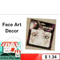 Face Art Decor