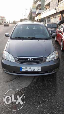 Toyota corolla model 2006