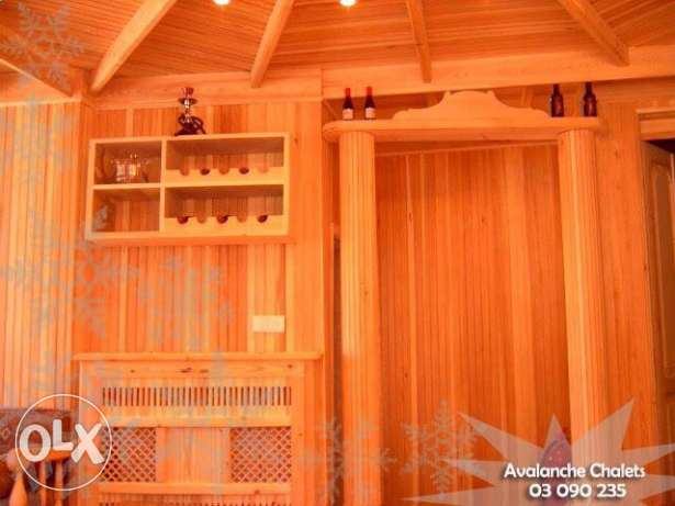 Avalanche Chalets - Chalet for Rent at Cedars-Al arz بشري -  3