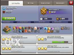 clach of clans th8 nos max
