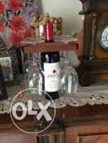 Wine glasses holder