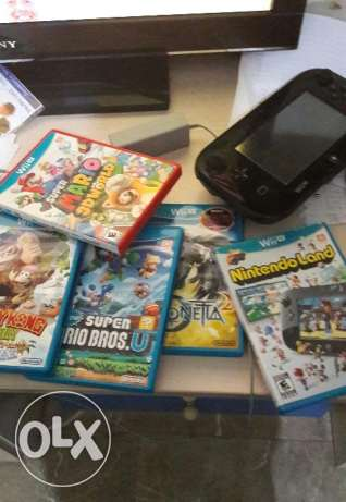 Wii u with 16 games