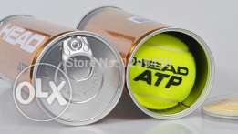 four head atp tennis used balls in box