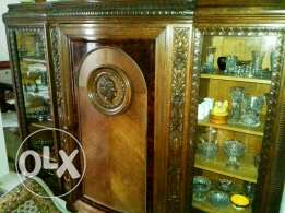Antique luxury vitrine