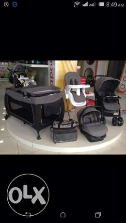 Baby full set bed stroller carseat bag highchair high quality