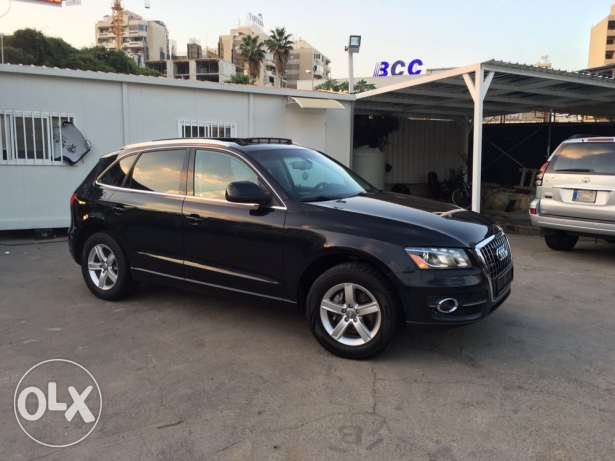 Audi Q5 2.0T 2011 Black/Basket Fully Loaded Clean Carfax Like New! بوشرية -  3