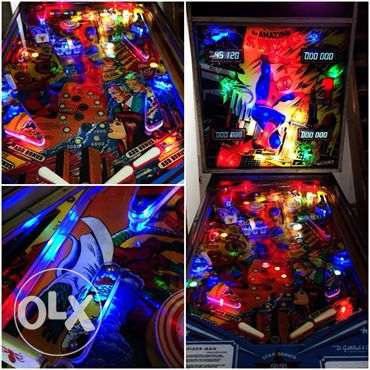 The Amazing Spiderman vintage Pinball Flipper