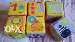 TOY 6 Cubes for baby