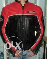 Original 1st Racing leather Jacket with thermal insulation...