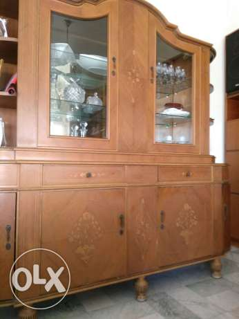 Antique Oak Cabinet for dining room for sale