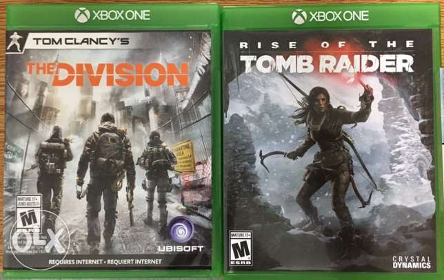 the division/tomb raider for sale or exchange