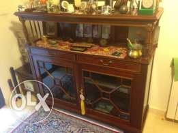 Hand-made antique furniture for office or study area