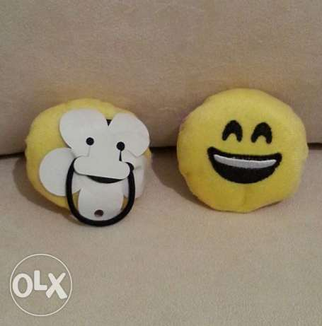Emoji Hair Rubber Band المرفأ -  4
