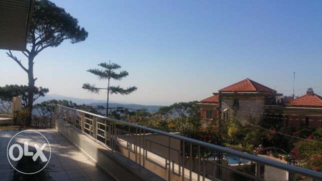 Spacious Luxurious Apartment with Big Garden in Ain Saadeh بيت مري -  1