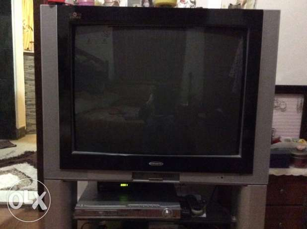 TV campomatic very good condition 32inch +DVD with seround