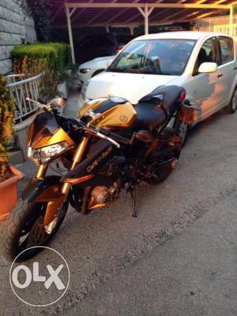Caferacer street fighter TNT benelli 1130cc