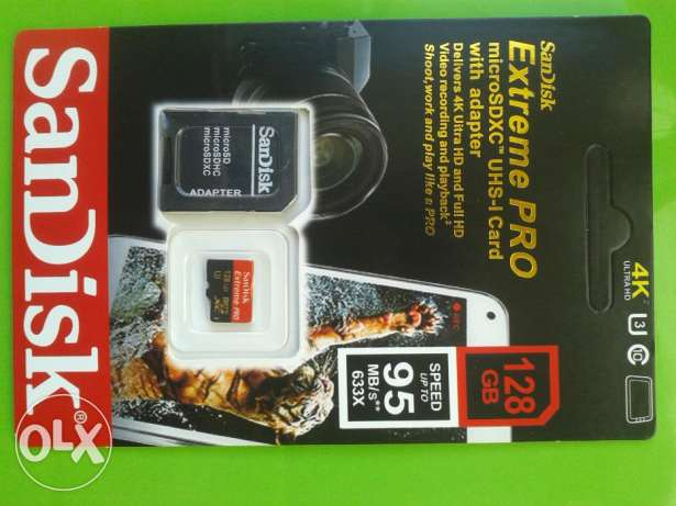 SanDisks Extreme PRO 128gb class10 U3 micro sd memory And free deliver