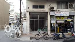 Store for rent in Beirut Bauchrieh new Hankach street