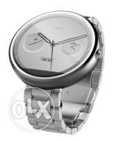 Brand NEW Moto 360 Stainless Steal