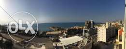for rent,fully furnished appartment in kaslik,125 meters ,sea vie